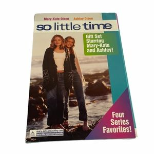 Mary Kate and Ashley Olsen So Little Time Book Set